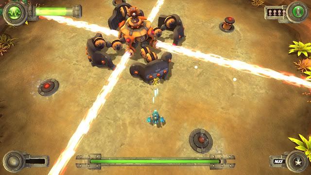 Blue Rider combinará los bullet hell más desafiantes con enfrentamientos continuos contra 'bosses' finales