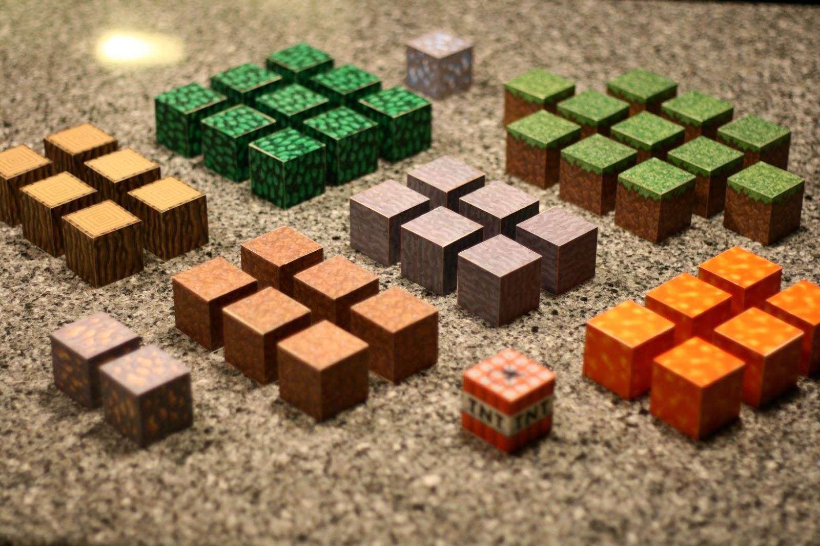 Life of Gregory D: DIY Wood Minecraft Blocks