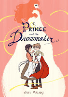 the prince and the dressmaker by jen wang cover