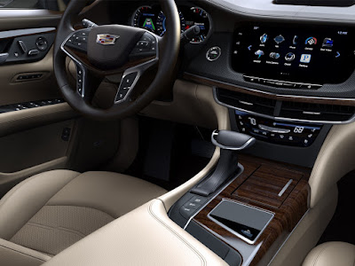 All New 2017 Cadillac CT6 Sedan interior image