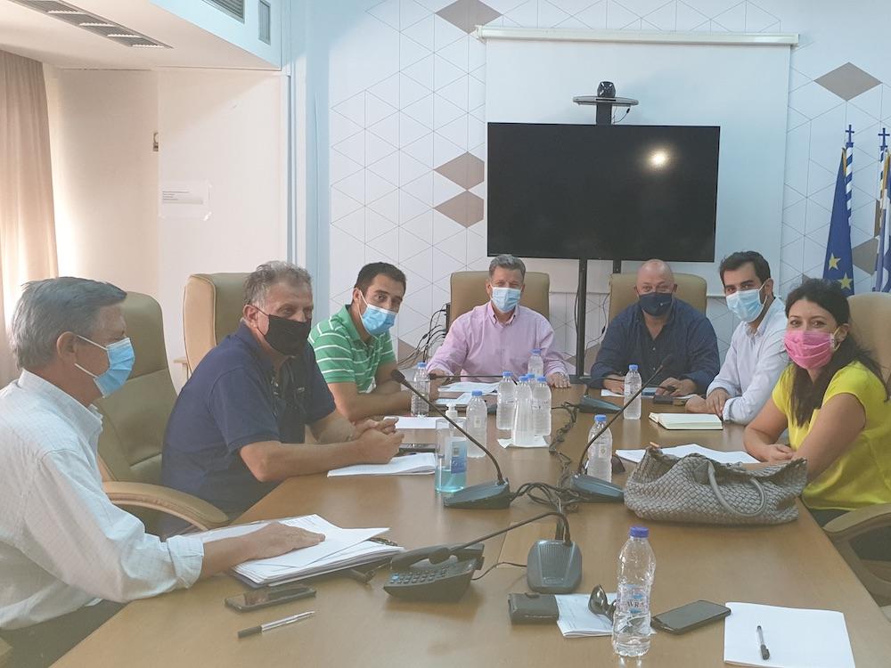 Συνάντηση του Αντιπεριφερειάρχη Αθλητισμού Ι. Μαντζούνη στην Μεσσηνία για την πορεία υλοποίησης αθλητικών έργων