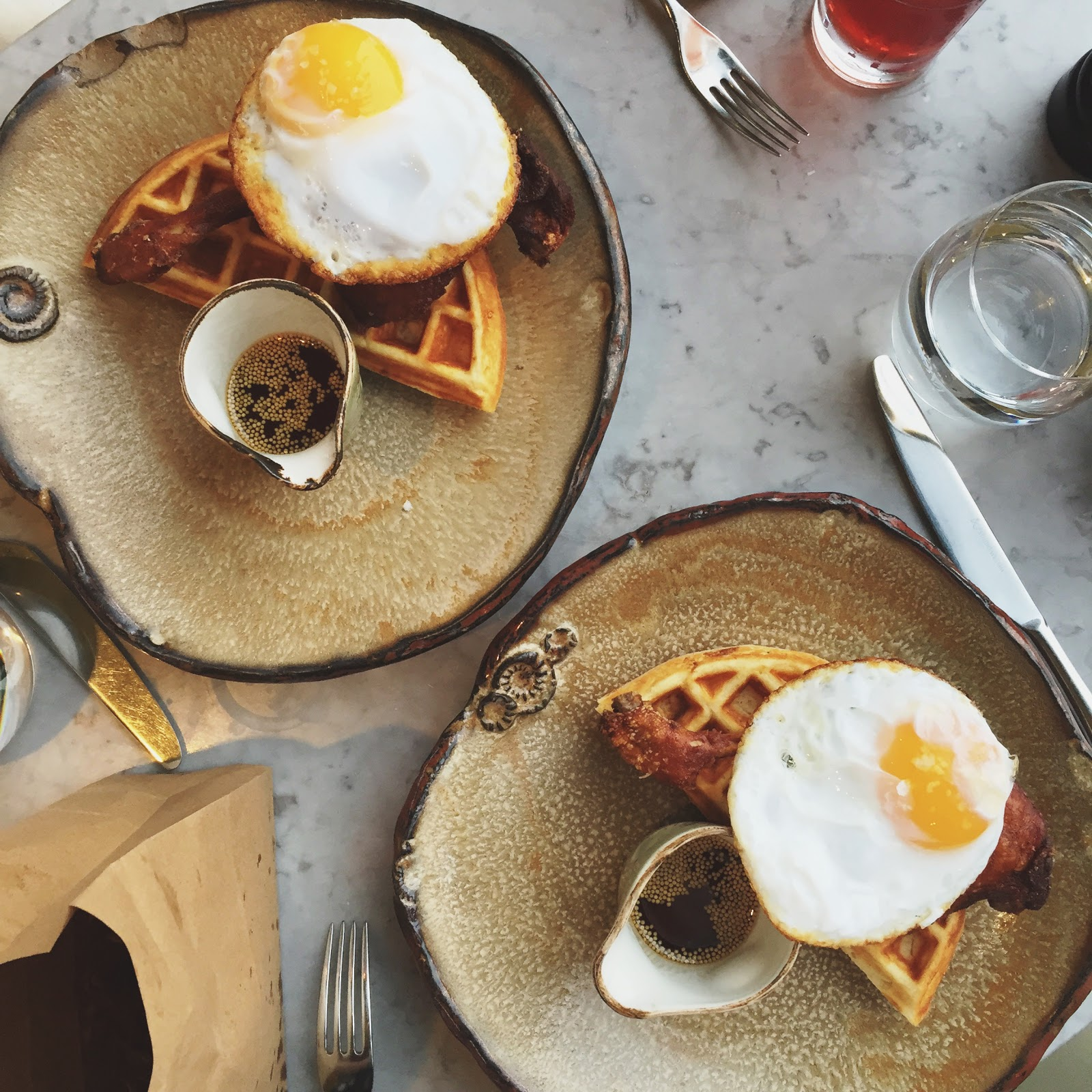 Duck & Waffle in london