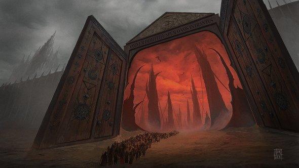 Mert Genccinar artstation arte ilustrações ficção fantasia terror sombrio surreal