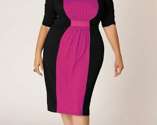 model baju untuk orang gemuk berhijab