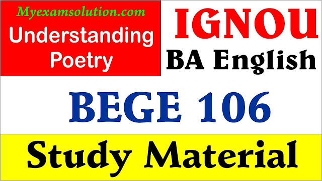 ignou bege 106, bege 106 syllabus notes,