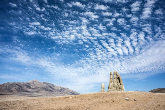 Mano del Desierto, Atacama, Chile