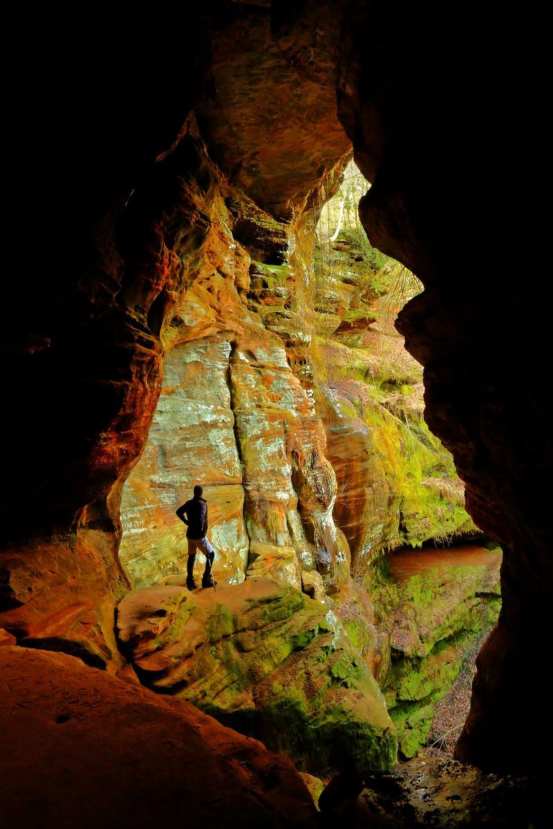 old man's cave hocking hills