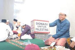 Ummat Muslim Lobar Galang Dana untuk Palestina