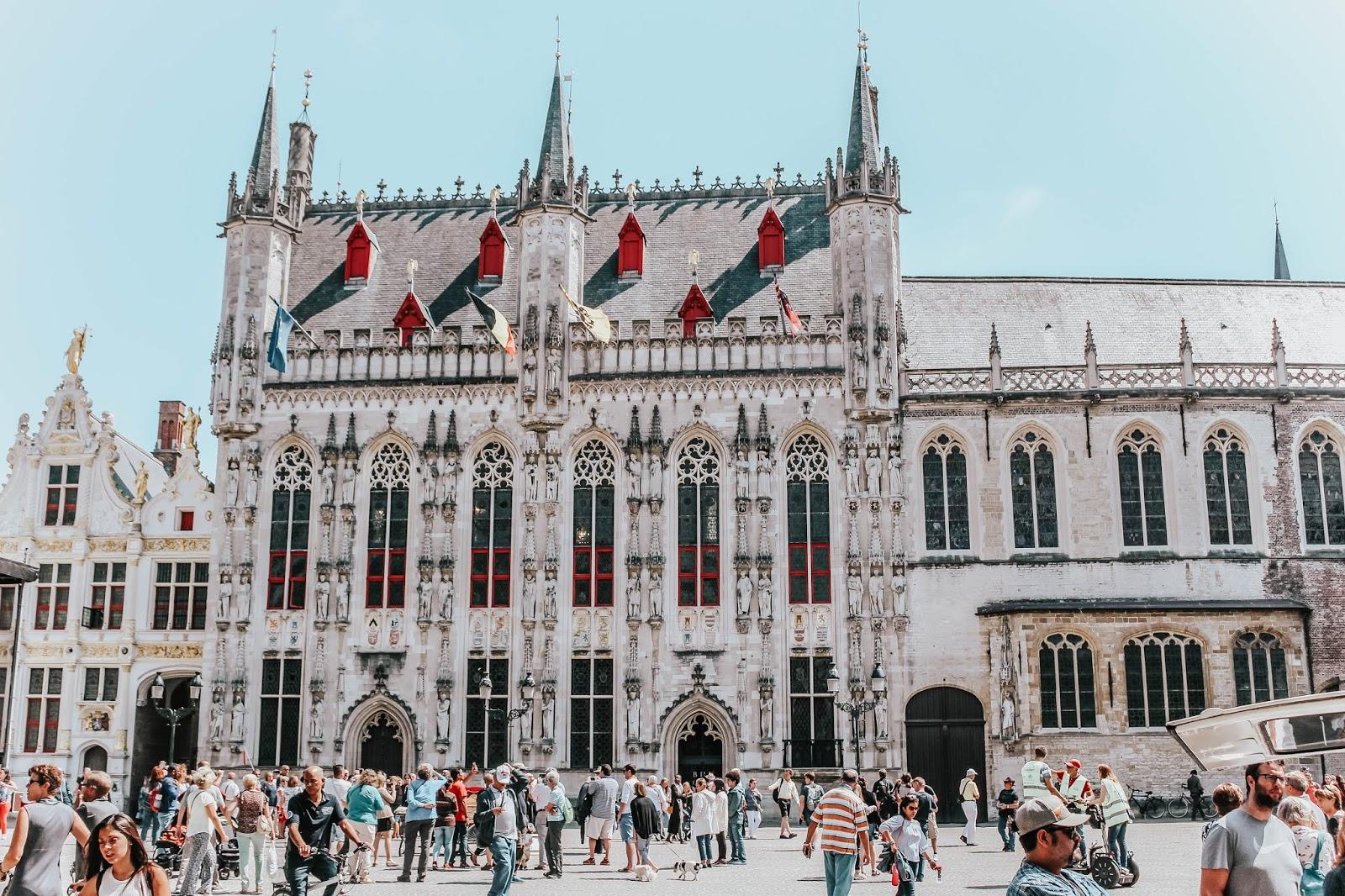Brugge Belgium Gothic Architecture Travel Blog
