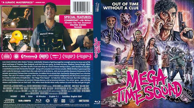 Mega Time Squad Bluray Cover