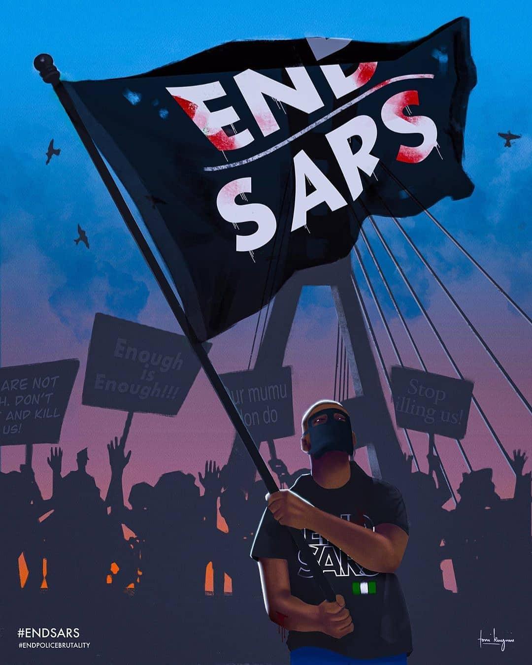 END SARS IN LAGOS NIGERIA