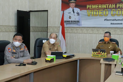 Sekdaprov Lampung Jadi Narasumber Peserta KKDN SESPIMTI POLRI DIKREG KE 30