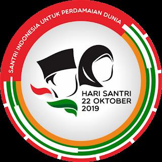 Logo hari Santri 2019
