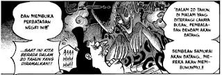 Review One Piece Chapter 919 Momonosuke Penjelajah waktu 20 Tahun yang lalu