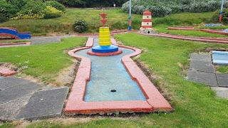 Crazy Golf at Victoria Park in Scarborough