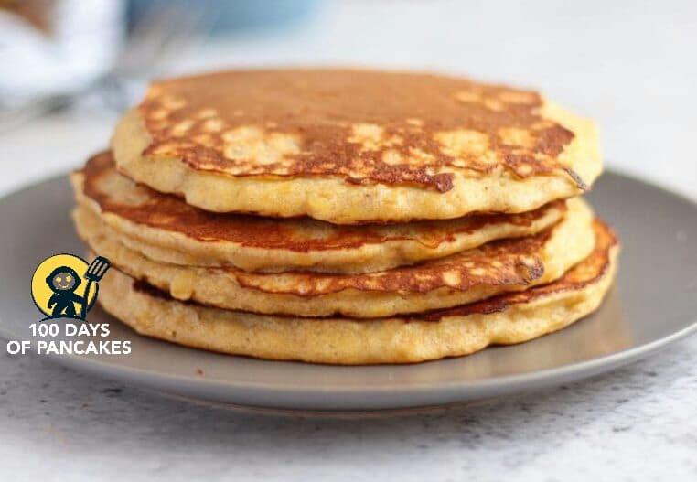 3 ingredients banana pancakes
