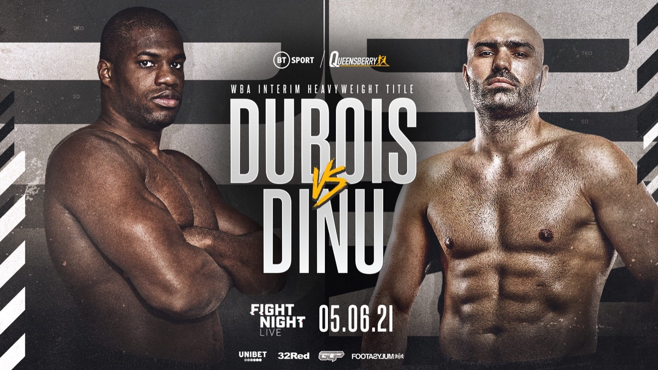 Daniel Dubois Vs Bogdan Dinu, Dubois Vs Dinu, WBO World Heavyweight Championship, Boxing, Fight