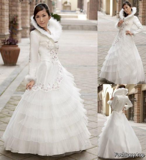 Casual Winter Wedding Dresses