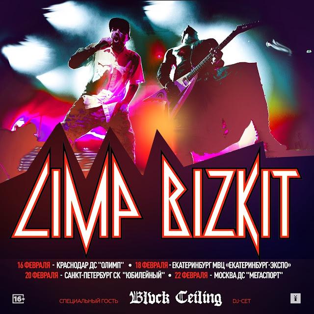 Blvck Ceiling откроет все российские концерты Limp Bizkit