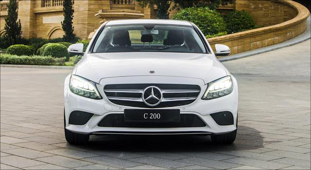 Ngoại thất Mercedes C200 2019