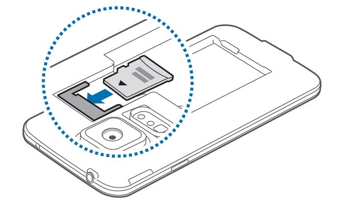 Come inserire memoria micro SD nel Galaxy Alpha