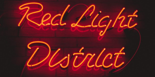 distrito da luz vermelha amsterdam