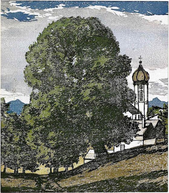 Josef Stoitzner art, a tree