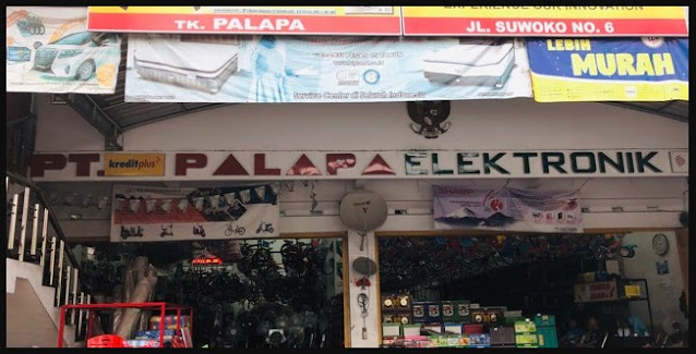 toko sepeda anak palapa lamongan