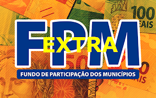 Municípios recebem repasse extra do FPM nesta sexta; segundo repasse de fevereiro será creditado na segunda