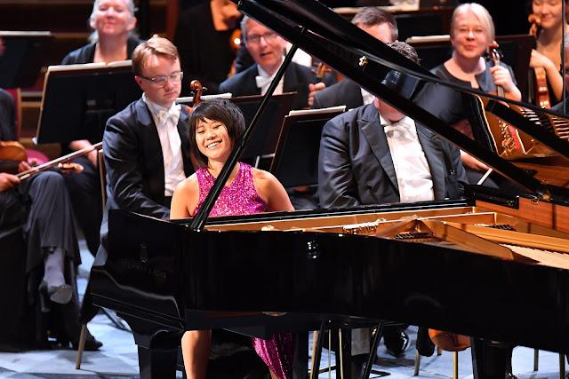 Prom 63 - Yuja Wang, Dresden Staatskapelle - BBC Proms (Photo BBC / Chris Christodoulou)