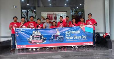 Perwakilan Komunitas Honda di Batam turut sukseskan HBD Regional Sumatra 2019