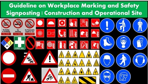 Guidance on Workplace Marking and Safety Signposting | Construction and Operational Site