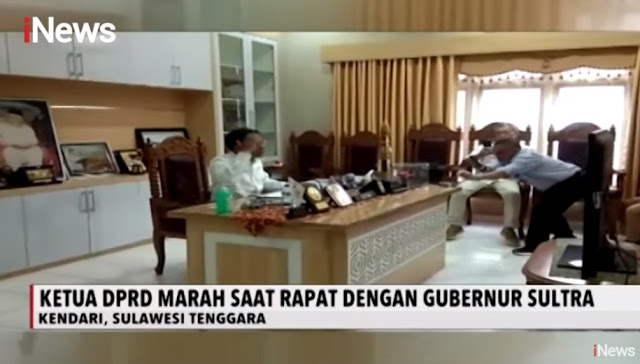 Viral.. Ketua DPRD Sultra Sampai Nangis-nangis Tolak TKA China