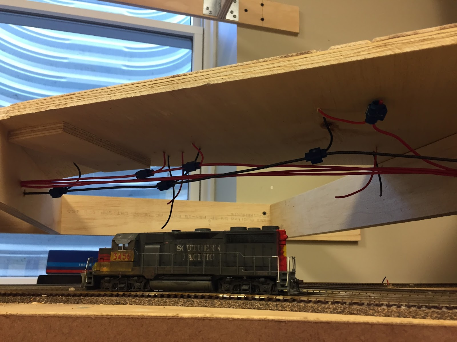 Building Oakridge A Constrction Journal Model Railroad Hobbyist Wiring Ho Tracks For Storage And The Split Of In Yard Right Runaround Mow Left All Turnouts Are Manual Micro Engineering