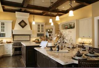 ديكور جبس سقف المطبخ