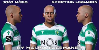 PES 2021 Faces João Mário by Maijna