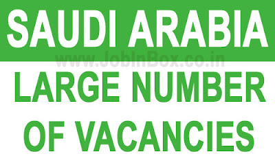 QC - Planning - HSE - Mechanical - Workshop Job Vacancies in Saudi Arabia