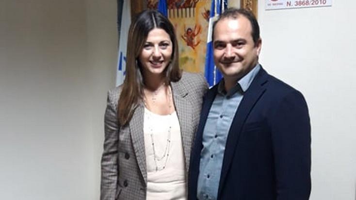 Επίσκεψη της Υφυπουργού Παιδείας Σοφίας Ζαχαράκη στο Διδυμότειχο