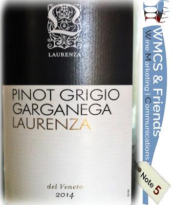 Laurenza Pinot Grigio Garganega Veneto 2014/2015