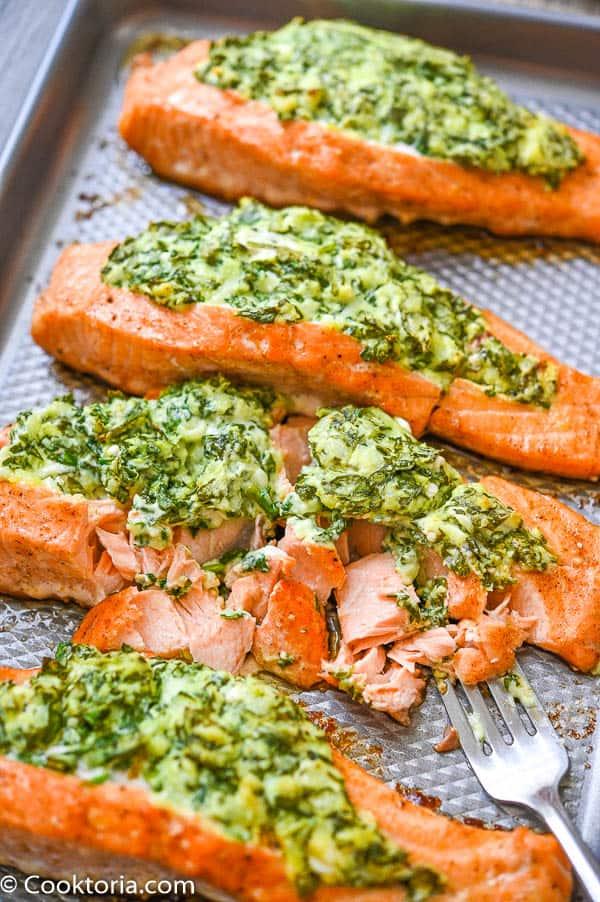 Spinach Stuffed Salmon Recipes