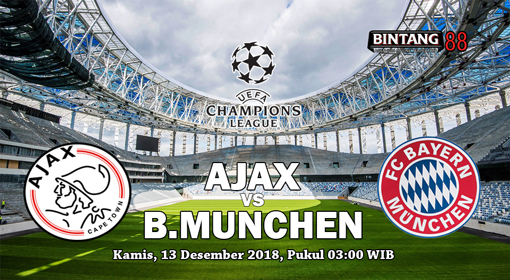 Prediksi Ajax vs Bayern Munchen 13 Desember 2018