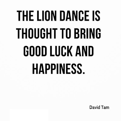 Lion Dance Quotes