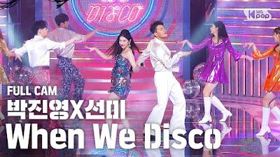 Sunmi JYP When We Disco Inkigayo