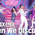 Sunmi and JYP performed 'When We Disco' on Inkigayo