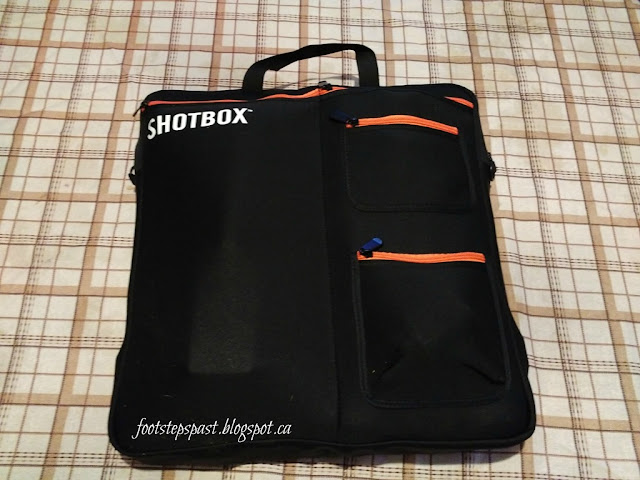SHOTBOX photography lightbox carry bag