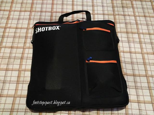 SHOTBOX photography lightbox carry bag
