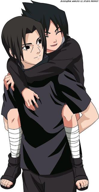 hubungan erat antara Itachi dan sasuke