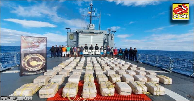 Capturados 15 venezolanos traficando 2 toneladas de cocaína en Colombia