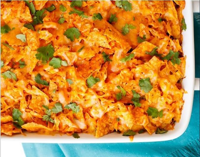 Doritos Casserole with Chicken #dinner #recipe