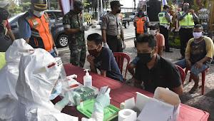 Pemkot Denpasar Lakukan Rapid Tes Di Pintu Masuk Kota Denpasar, Hasilnya Non Reaktif Semua